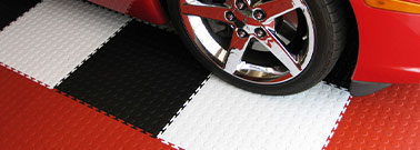 Flexible Garage Tiles
