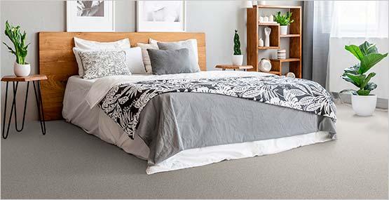 Attractive and comfortable carpet floor
