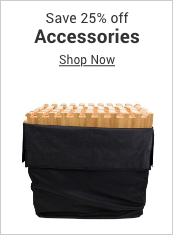save 25% off accessories