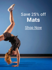 save 25% off mats