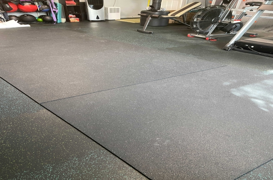 Customer review image of  in Garage gym