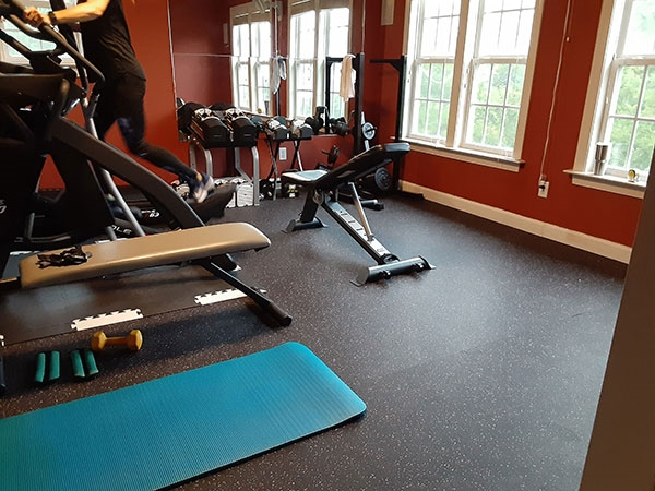 Customer review image of  in Family room/ home gym