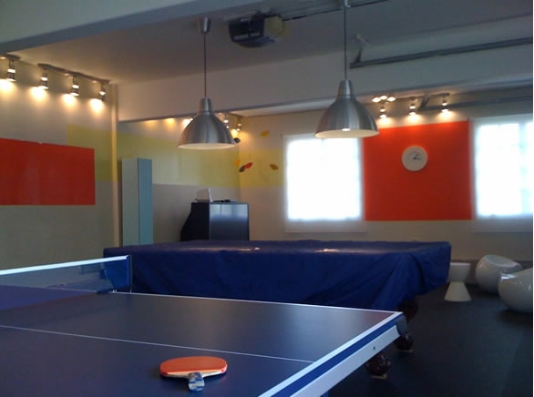Customer review image of  in Basment Rec Room