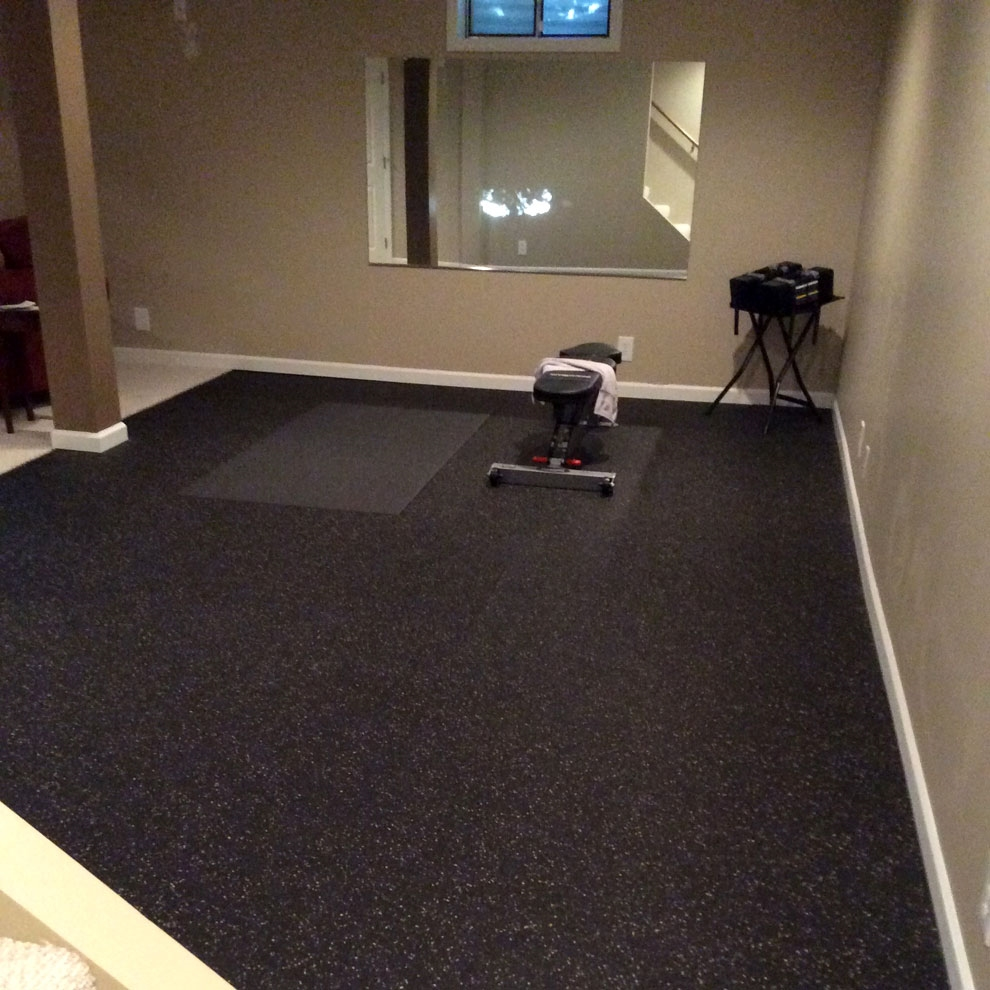 Customer review image of  in Basement / Fitness Room