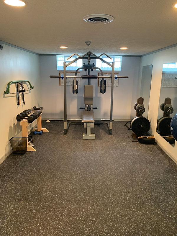 Customer review image of  in Studio gym