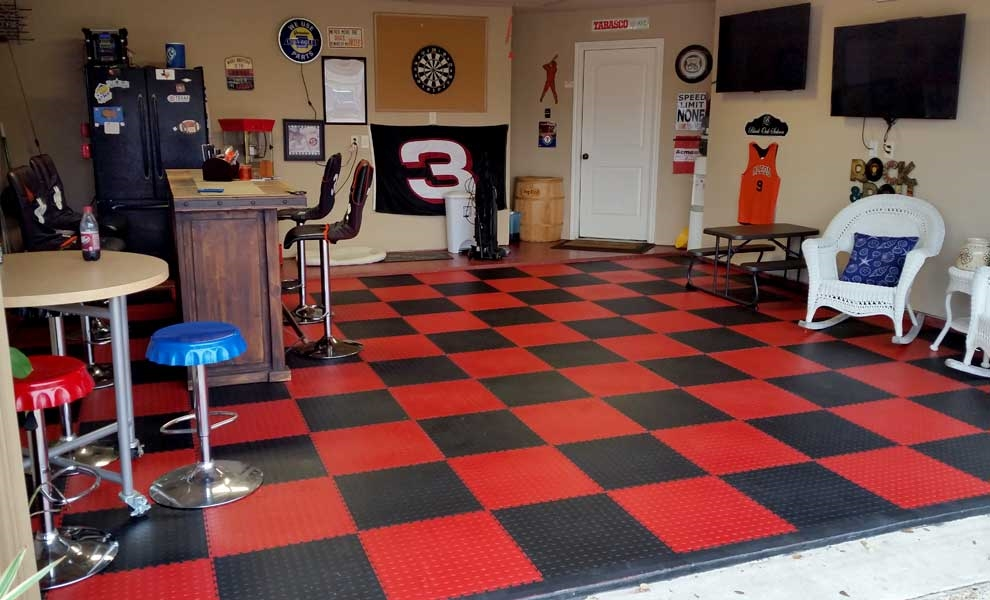 Customer review image of  in Made garage into sports bar