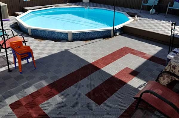 Customer review image of  in Outdoor Deck