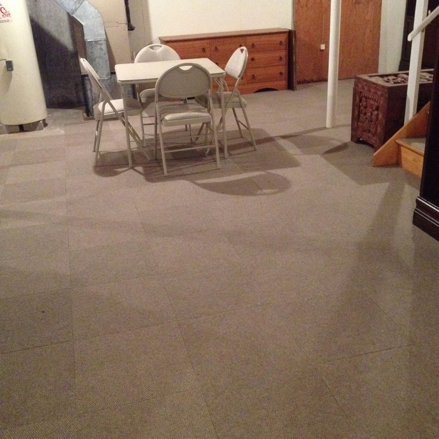 Customer review image of  in Stairs and Basement