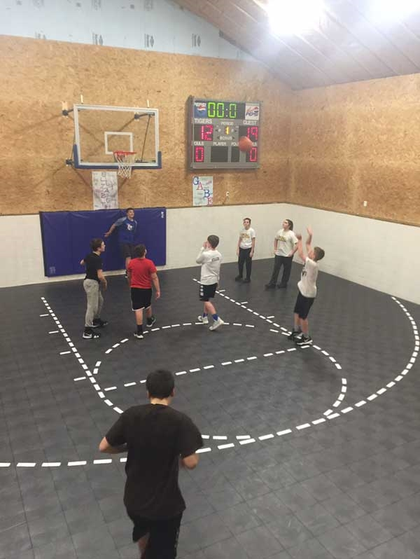 Customer review image of  in Indoor Basketball Court