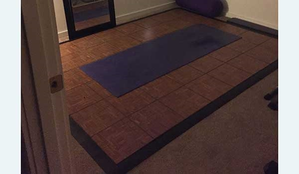 Customer review image of  in Home yoga room