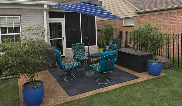 Customer review image of  in Garage and patio