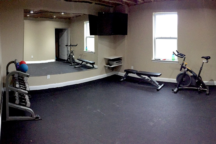 Customer review image of  in Home Basement Gym
