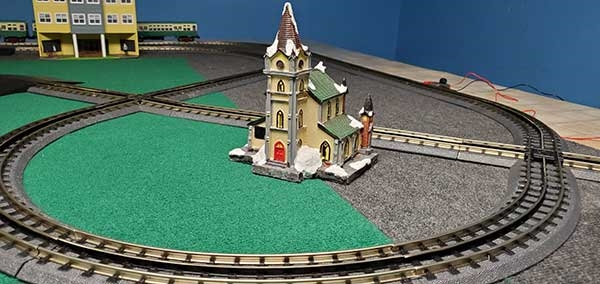 Customer review image of  in O Scale train layout