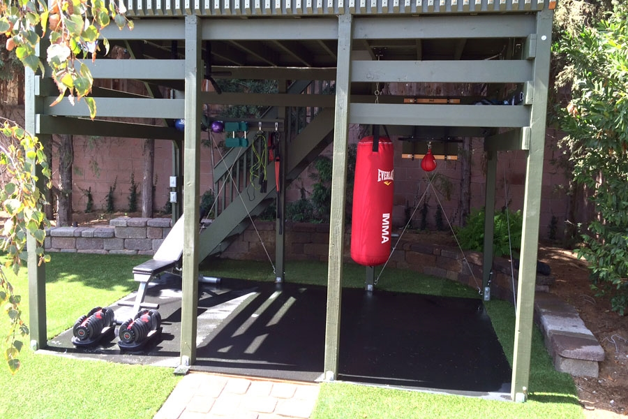 Customer review image of  in Outdoor Workout Area
