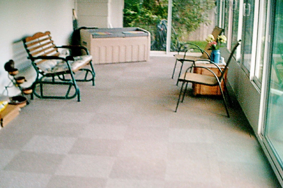 Customer review image of  in Inclosed Patio