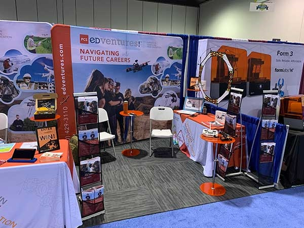 Customer review image of  in Trade Show Booth
