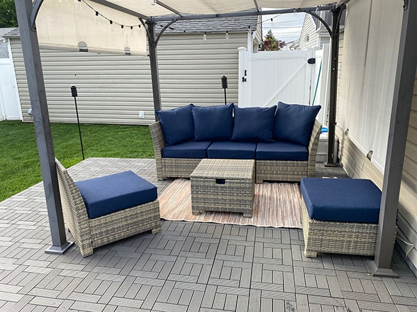 Customer review image of  in Backyard Deck