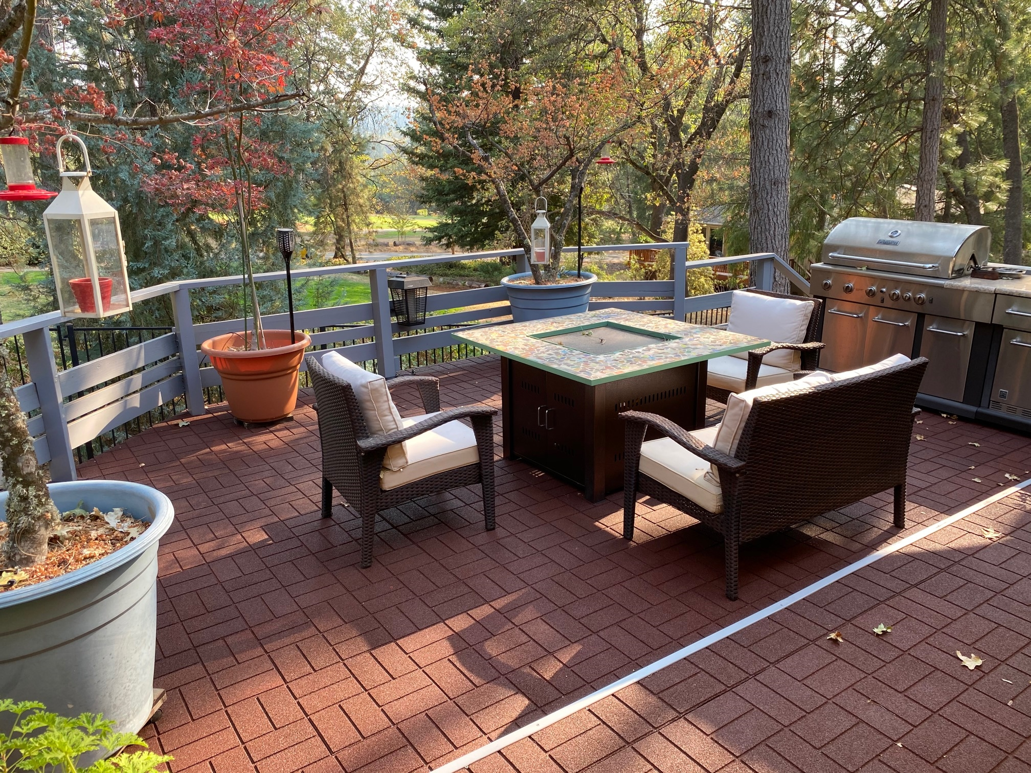 Customer review image of  in Deck outdoors