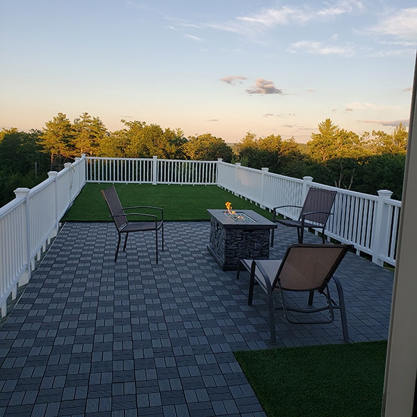 Customer review image of  in Rooftop deck