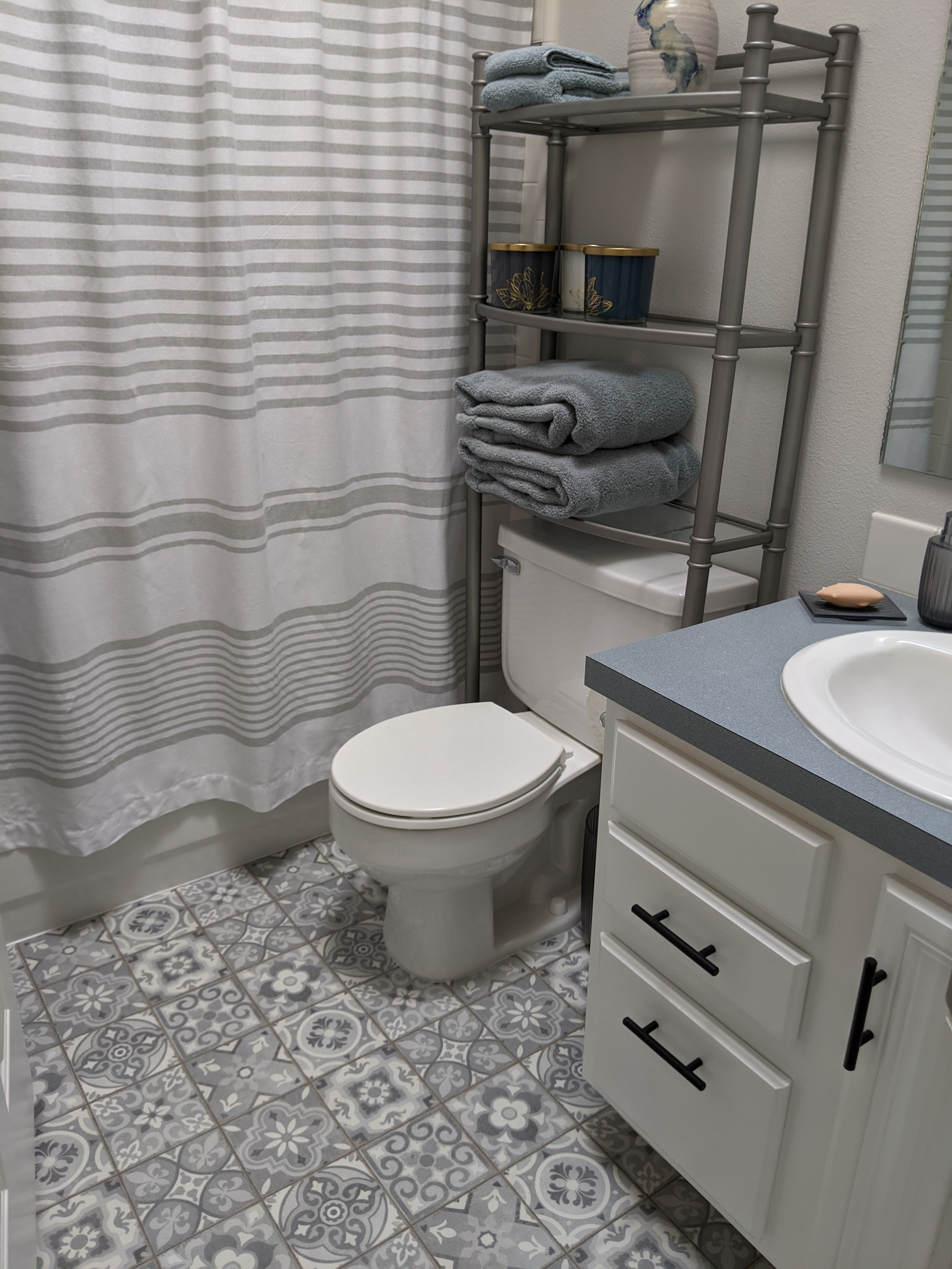 Customer review image of  in Upstairs bathroom