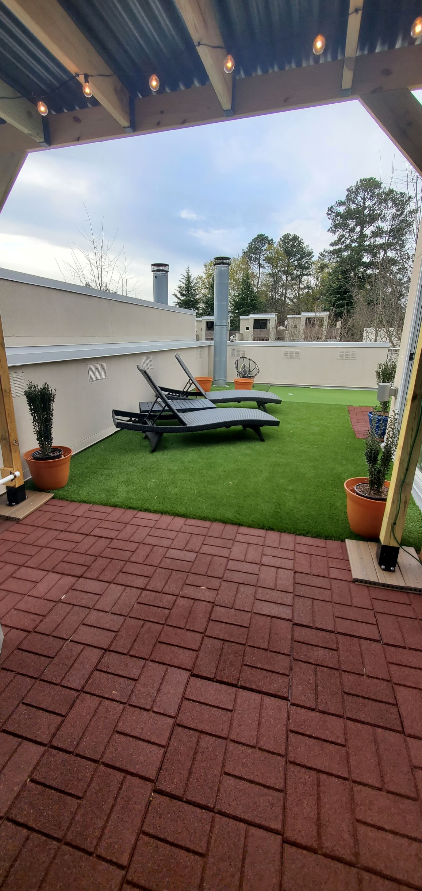 Customer review image of  in Rooftop patio