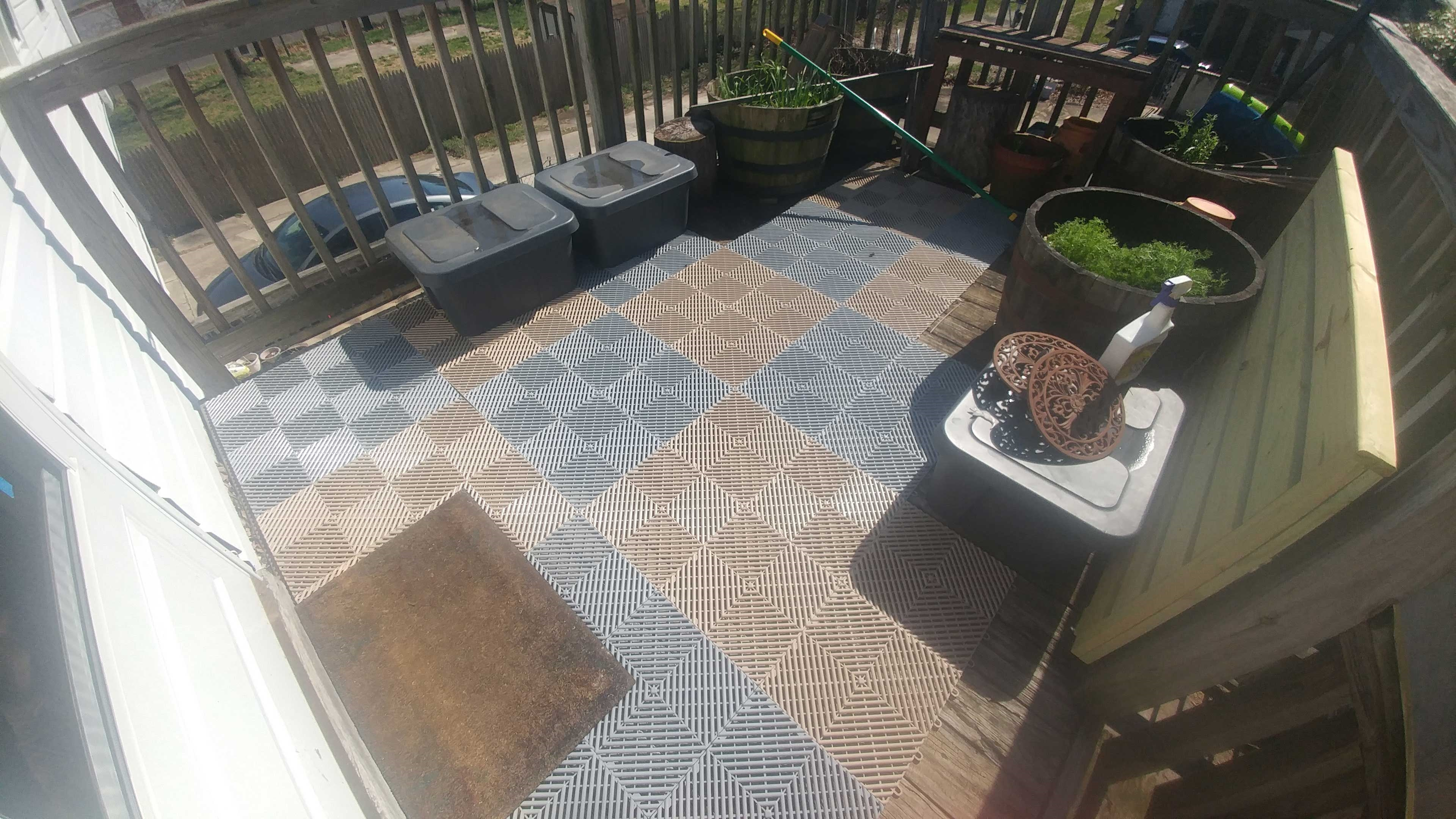 Customer review image of  in Apartment porch