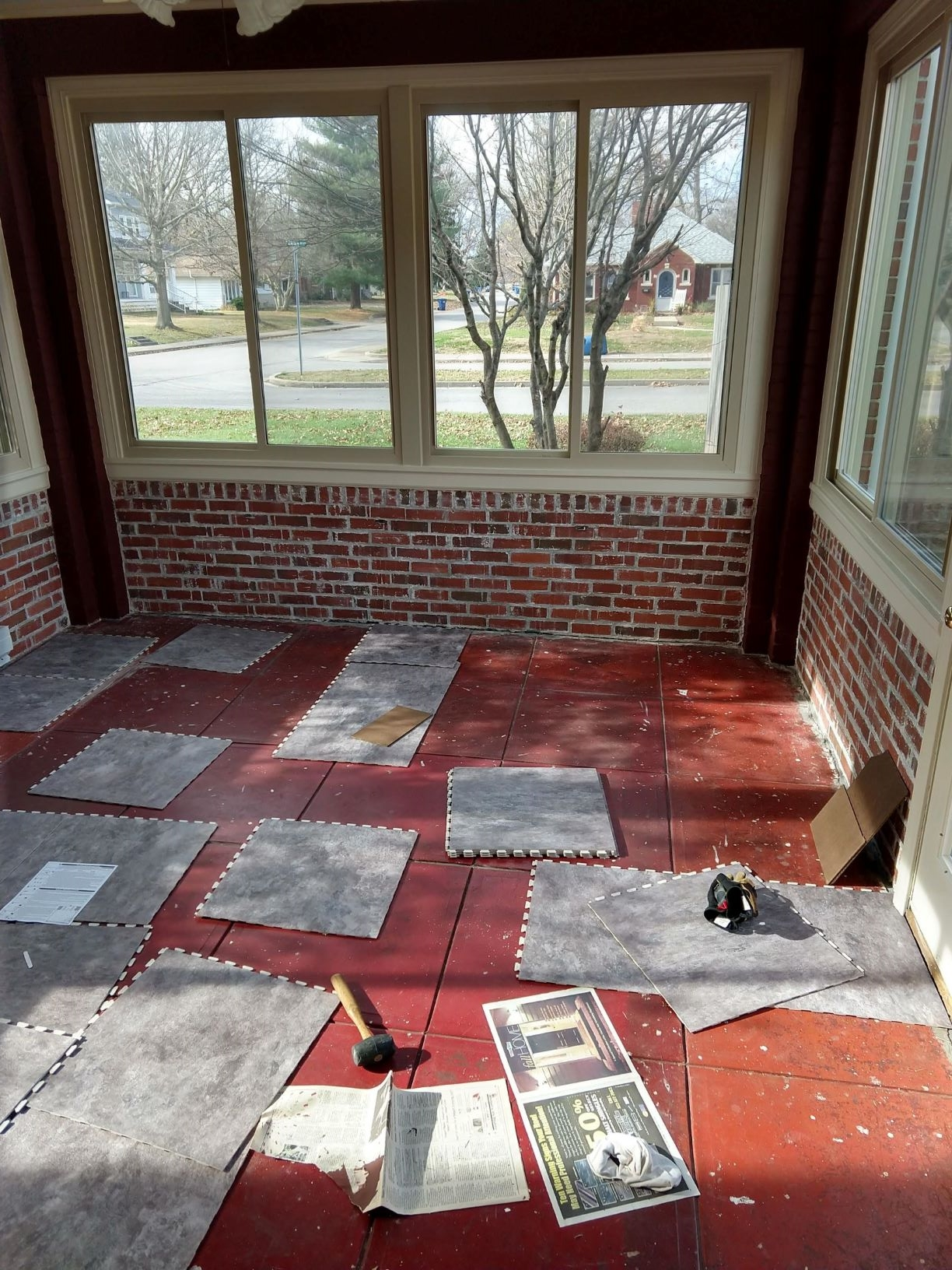 Customer review image of  in Enclosed porch