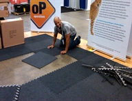 "5/8"" Eco-Soft Carpet Tiles"