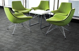 Mohawk Pattern Perspective Carpet Tile
