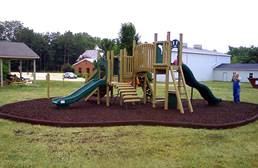 Rubberific Playground Border