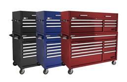 Homak Pro II Roller Cabinet Combo