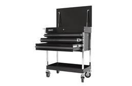 Homak Pro 3-Drawer Flip Top Service Cart