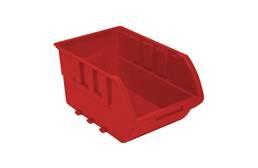Homak Small Plastic Bin