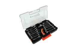 Homak 15-Piece Stubby Wrench Set