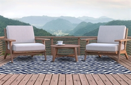 Contours Indoor Outdoor Area Rug