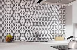 Daltile Natural Stone Tile Hexagons