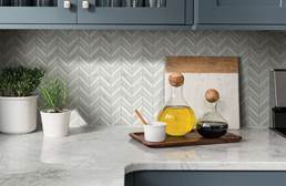 Shaw Chateau Chevron Natural Stone Tile