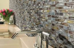 Shaw Mercury Glass Mosaic