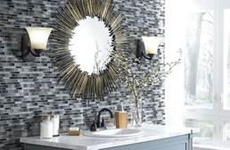 Shaw Silverton Glass Mosaic