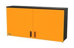 "Swivel Storage 60"" 2-Shelf Top Cabinet"