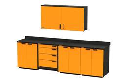 Swivel Storage Workbench XL w/Wall Cabinet