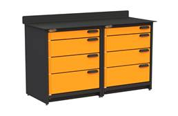 Swivel Storage Workbench w/Drawers - Duo
