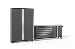 NewAge Bold Series 2-PC Cabinet Set