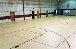 Indoor Basketball Vinyl Court Kits