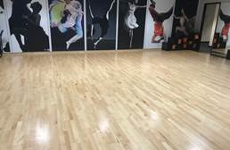 Hardwood Dance Flooring