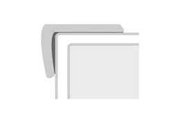 """COREtec + Design 1.16"""" x 2.12"""" x 94"""" Stair Cap"""