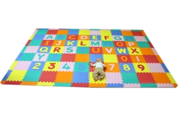 Large Foam ABC-123 Mat