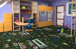 Joy Carpets Tiny Town Carpet Tile
