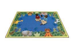 Joy Carpets Jungle Friends Kids Rug