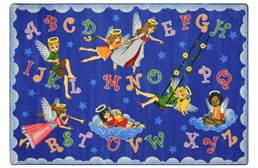 Joy Carpets Angel Alphabet Kids Rug
